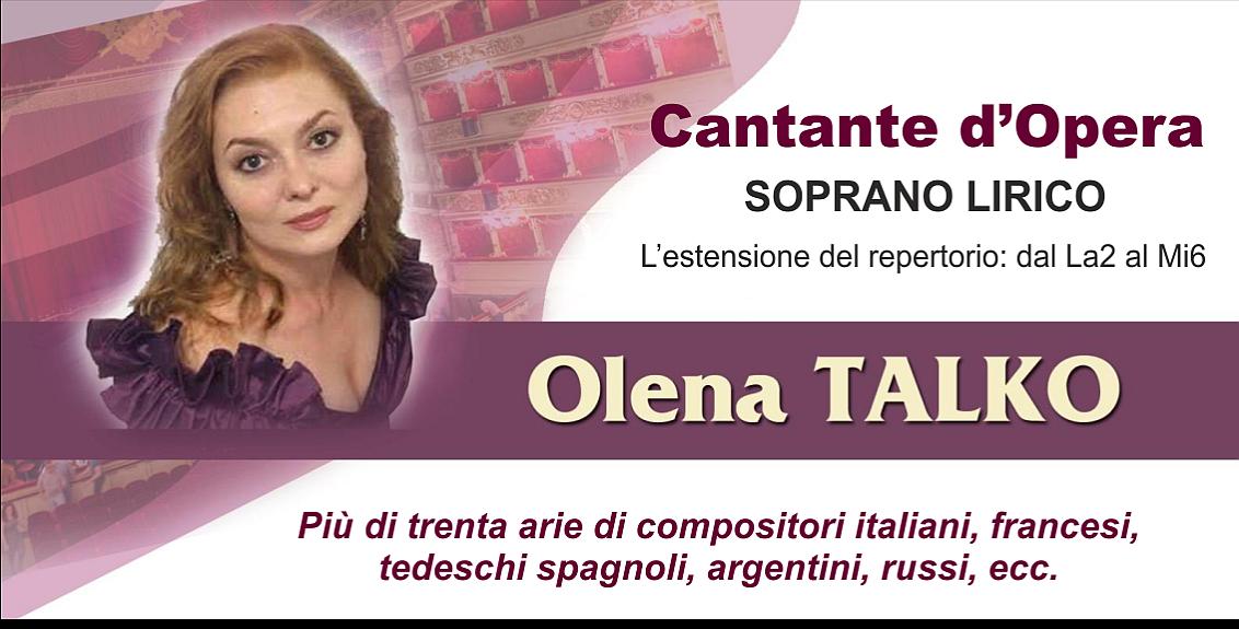 Soprano Olena Talko