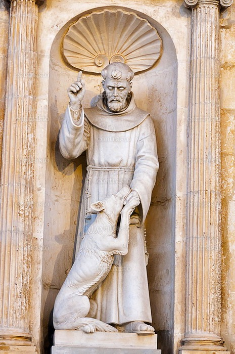 Statua San Francesco di Francesco Bagnulo