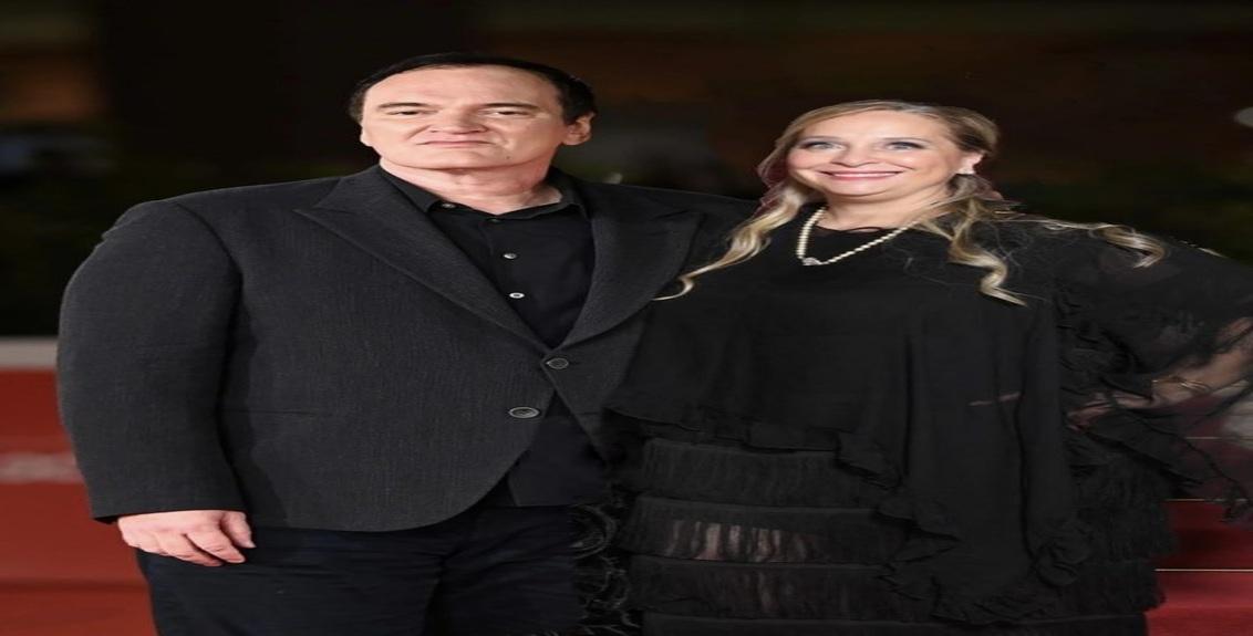 Quentin Tarantino ed Eleonora Lastrucci